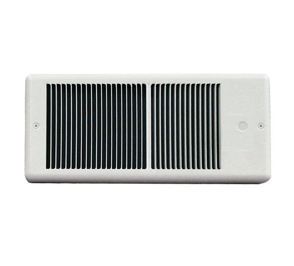 Low Profile Wall Insert Electric Fan Heater by TPI