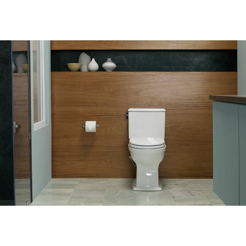 Connelly Universal Height Dual Flush Elongated Two Piece Toilet With Cefiontect