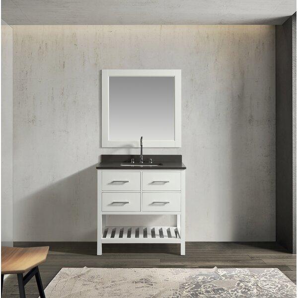 Highland Creek 36 Single Bathroom Vanity Set with Mirror