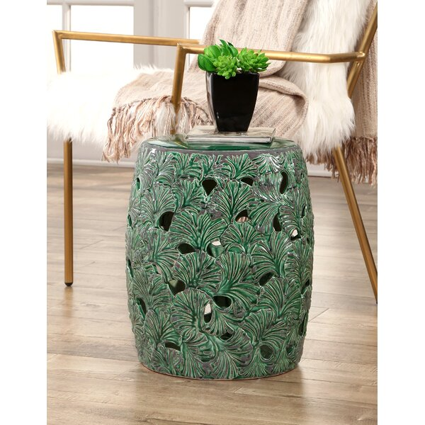Linfield Garden Stool by Bay Isle Home