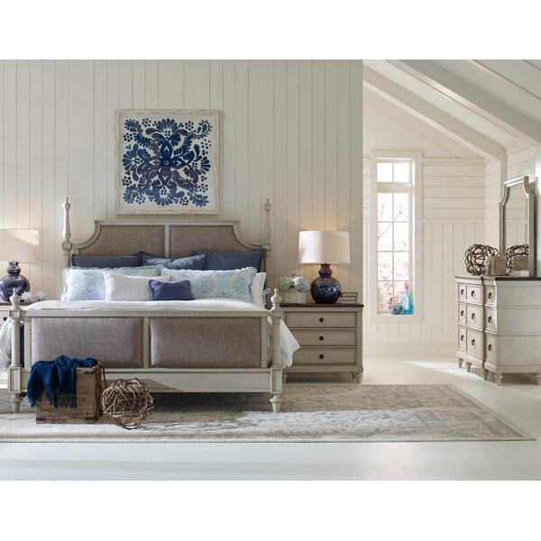Bruyere Upholstered Panel Configurable Bedroom Set by Lark Manor