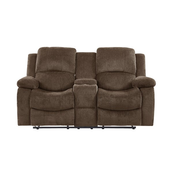 New Chic Anshul Extra Reclining Loveseat by Red Barrel Studio by Red Barrel Studio