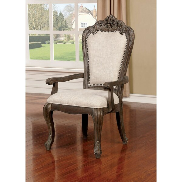 Ochlocknee Upholstered Dining Arm Chair (Set of 2) by Astoria Grand Astoria Grand