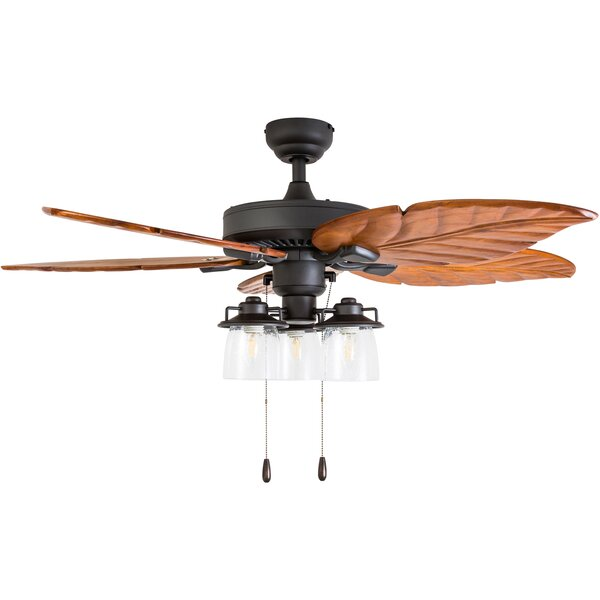 52 Columbus 5 Blade LED Ceiling Fan by Bay Isle Ho