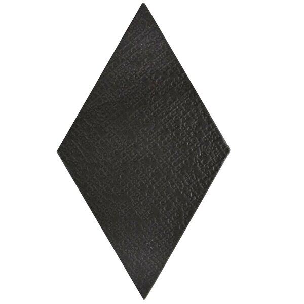 Ronbo 5.5 x 9.5 Porcelain Field Tile in Black by EliteTile