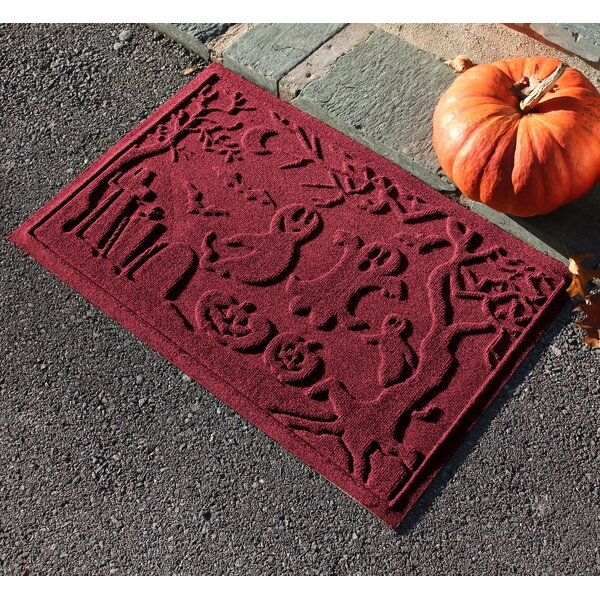 Aqua Shield Ghost Train Doormat by The Holiday Aisle