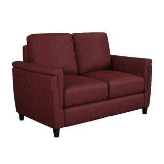 Altimo Leather Loveseat by Westland and Birch SKU:CA407090 Reviews