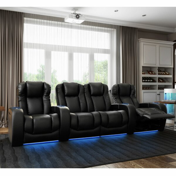 Grand HR Series Home Theater Seating (Row Of 4) By Red Barrel Studio