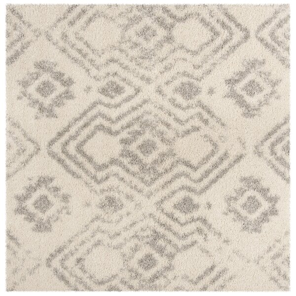 Amicus Beige/Gray Area Rug by Wrought Studio
