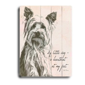 'My Little Dog' Graphic Art by Artehouse LLC