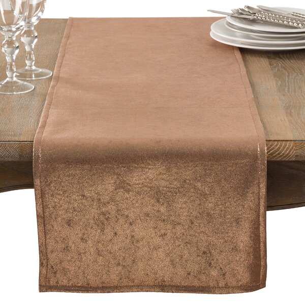 Alejandre Shimmering Evening Dinner Party Event Table Runner by Everly Quinn