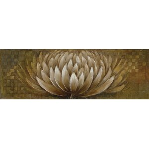Modern Floral and Nature Painting on Canvas by La Kasa, LLC