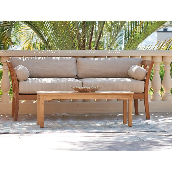Marcell Solid Wood Coffee Table By Rosecliff Heights