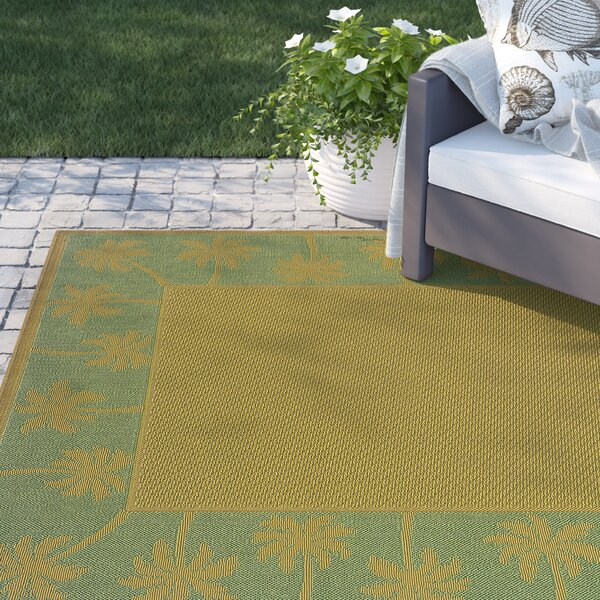 Barham Beige/Green Indoor/Outdoor Area Rug by Sol 72 Outdoor