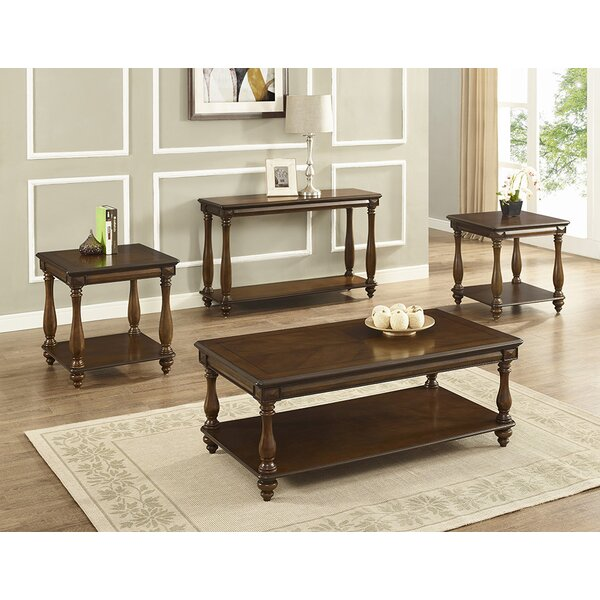 Goldie Occasional 3 Piece Coffee Table Set by Alcott Hill