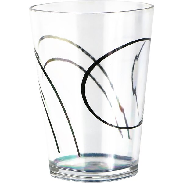 Simple Lines Acrylic 8 oz. Drinkware (Set of 6) by