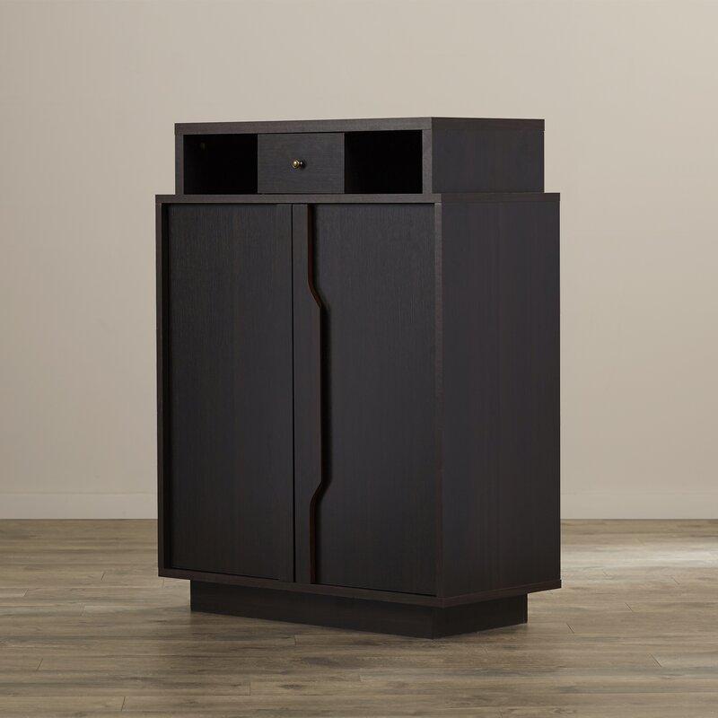 Marshall 15 Pair Shoe Storage Cabinet
