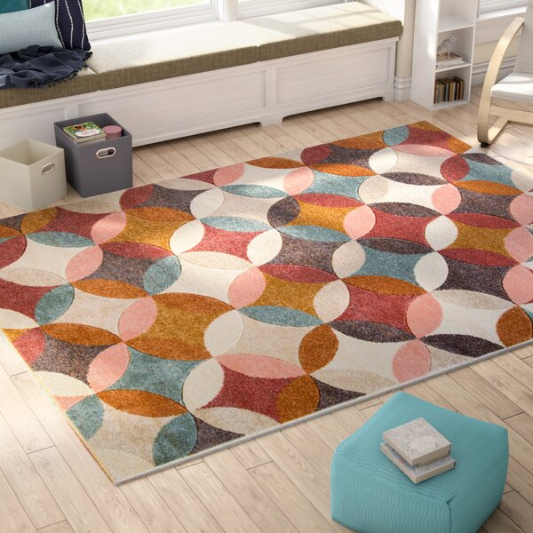 Dufresne Brown Area Rug by Ebern Designs
