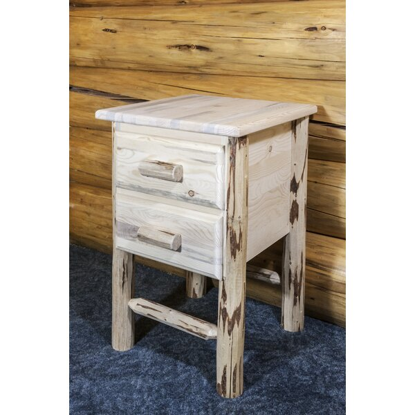 Tustin 2 Drawer Nightstand By Loon Peak by Loon Peak New Design