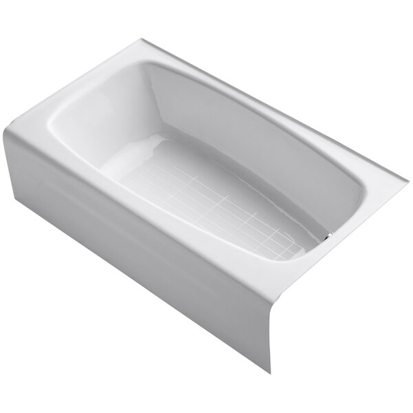 Seaforth Alcove 54 x 31 Soaking Bathtub by Kohler