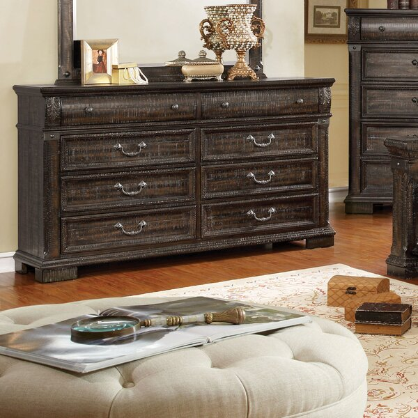 Mable 8 Drawer Double Dresser by Canora Grey