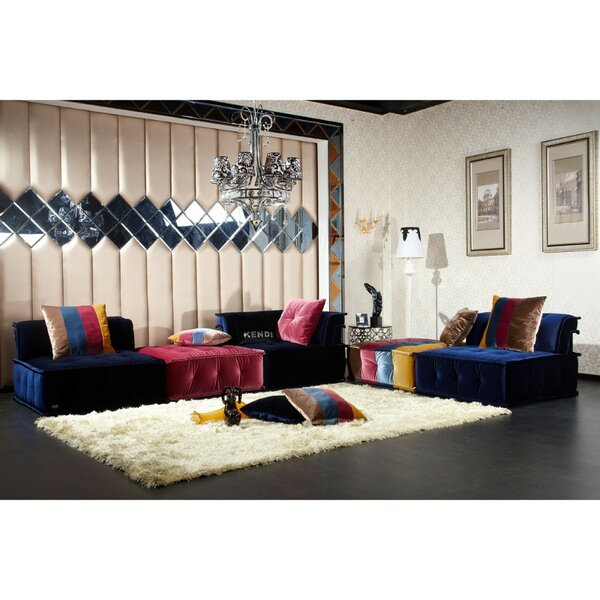 Donny Symmetrical Modular Sectional By Everly Quinn