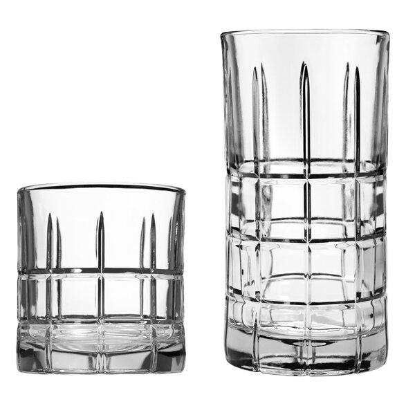 Manchester 16 Piece Drinkware Set by Anchor Hocking