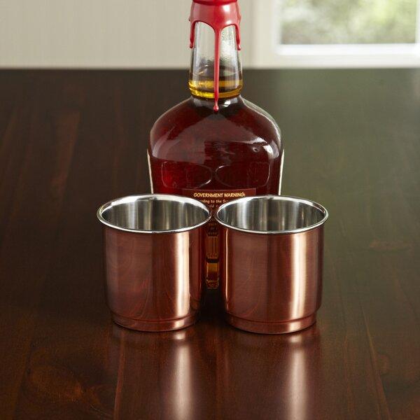 Copper 11 oz. Whiskey Tumblers (Set of 2) by Birch Lane™