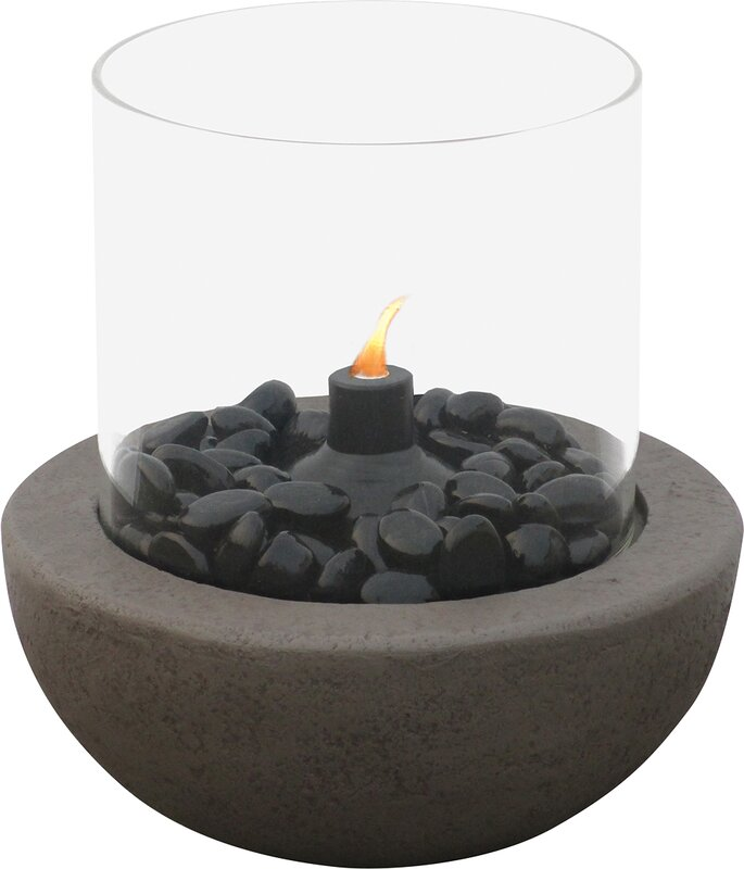Endless Summer Blue Rhino Citronella Tabletop Fireplace & Reviews ...