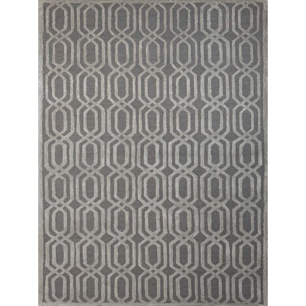 Carlstadt Stone Blue Area Rug by Mercer41