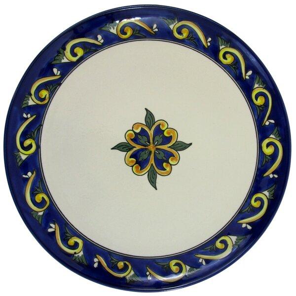 Riya Stoneware Ceramic Round Platter by Le Souk Ceramique