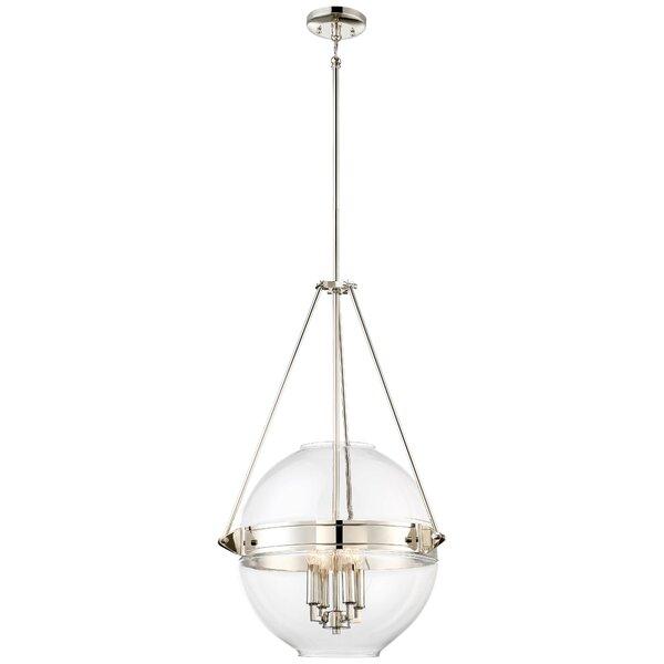Atrio 4 - Light Unique / Statement Globe Chandelier By Minka Lavery