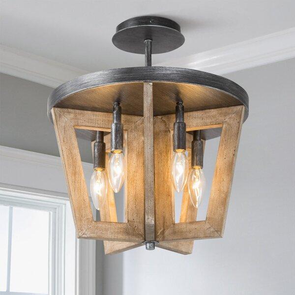 Meryem 5 - Light Latern Geometric Chandelier by Gracie Oaks Gracie Oaks