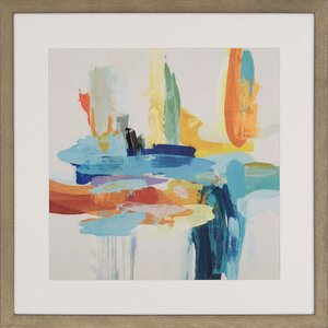 Synergy II by Hibberd Framed Painting Print by Paragon
