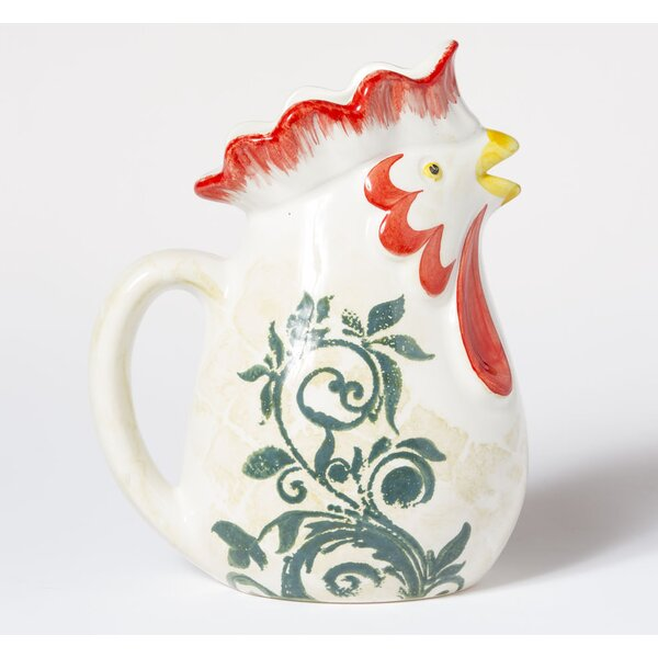 Gather Rooster Pitcher by VIETRI