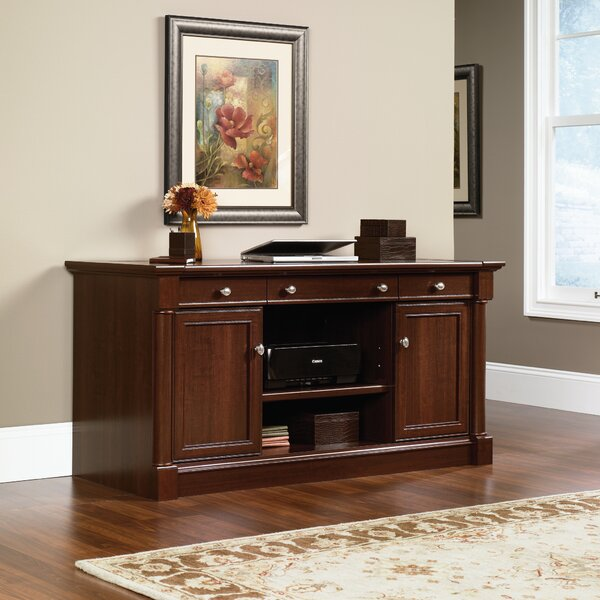 Walworth 2 Door Credenza Desk by Three Posts