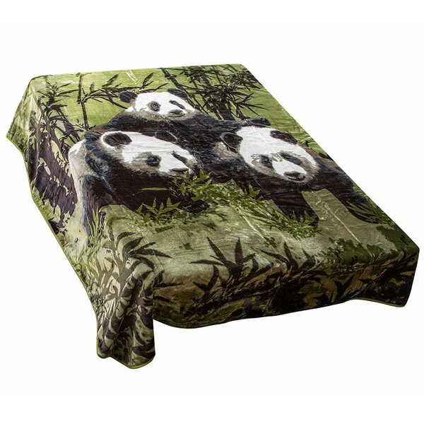 Panda Mink Blanket by East Urban Home