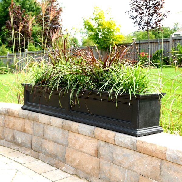Fairfield Self-Watering Plastic Window Box Planter by Mayne Inc.