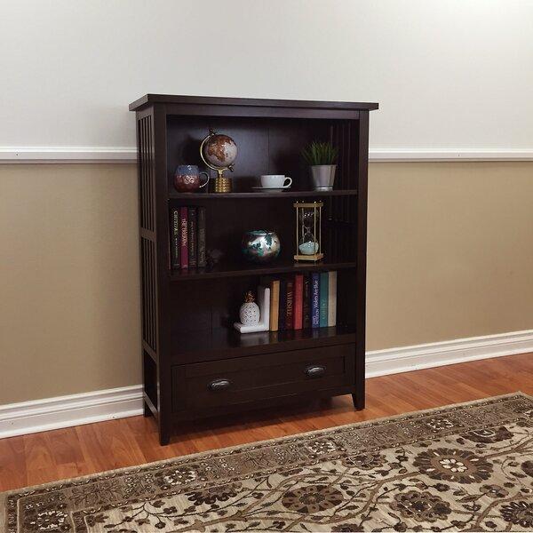 Gaudreau 1-Drawer Standard Bookcase by Red Barrel Studio