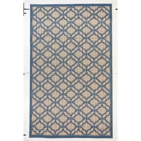 Kevan Blue/Beige Indoor/Outdoor Area Rug by Darby Home Co