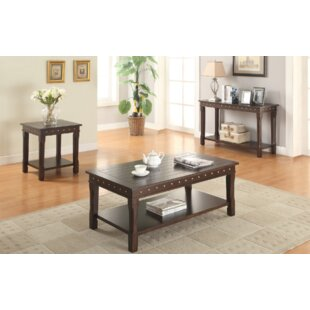 Angeville 3 Piece Coffee Table Set Gracie Oaks