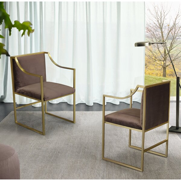 Gemmill Upholstered Dining Chair by Everly Quinn