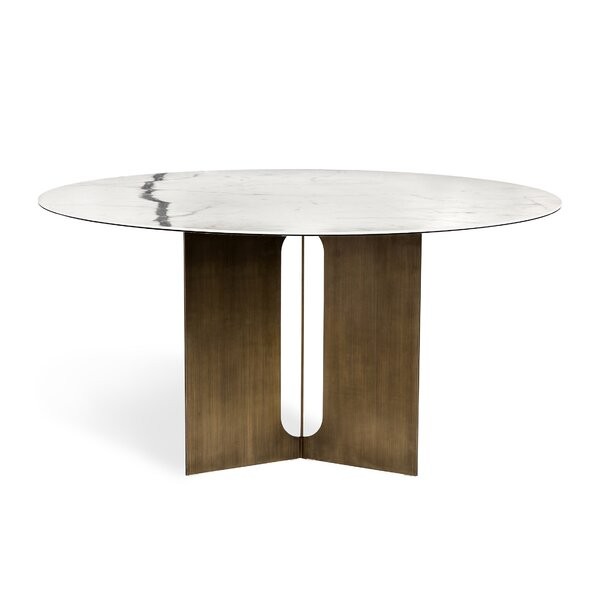 Pierre Dining Table by Interlude Interlude