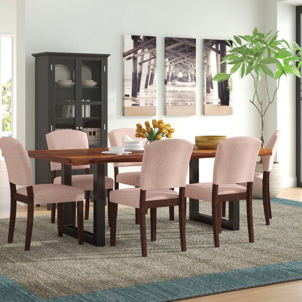 Linde 7 Piece Dining Set by Brayden Studio