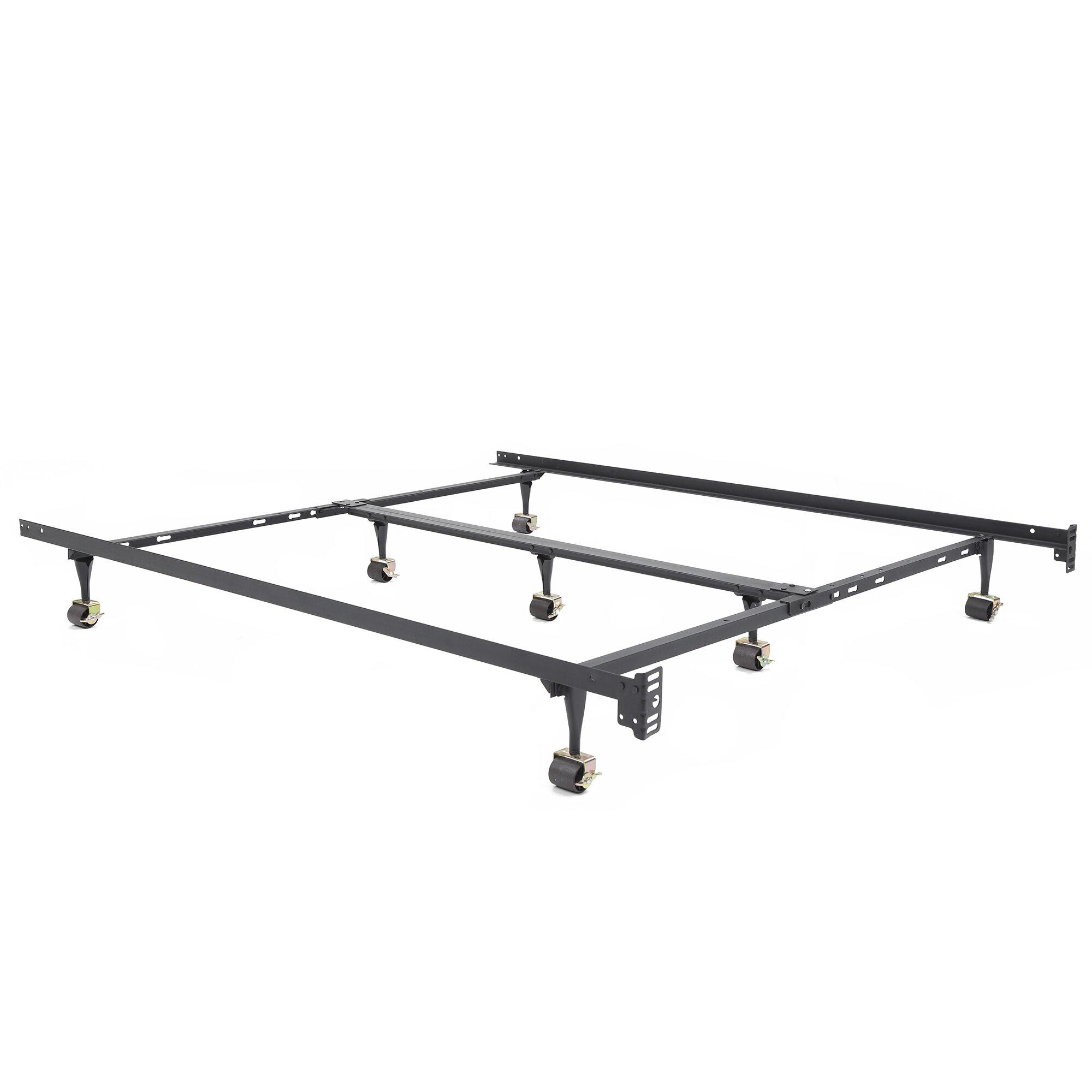 Adjustable Queen Or King Metal Bed Frame Walmart Com Walmart Com