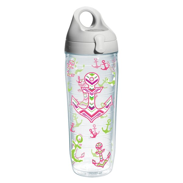 On The Water Anchors Away Water Bottle Plastic by Tervis Tumbler