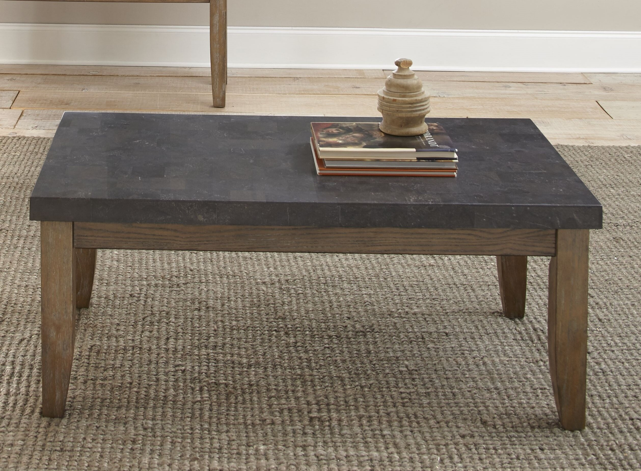 Lark manor dejardins bluestone coffee table reviews wayfair
