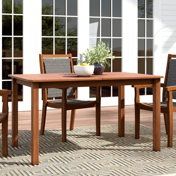 Arianna Wooden Dining Table by Langley Street™