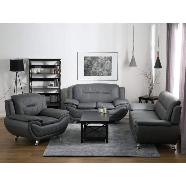 Leira Configurable 3 Piece Living Room Set by Brayden Studio