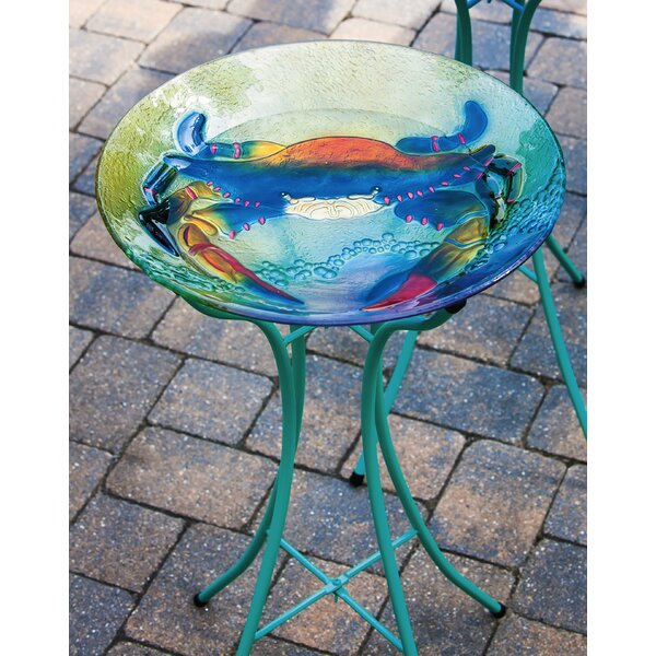 Crab Birdbath by Evergreen Enterprises, Inc